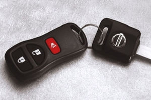 2014 Nissan Xterra Remote Control Key Fob (Without I-Key) 28268-ZT03A