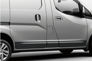 2014 Nissan NV200 Body Side Moldings