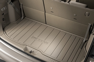 2013 Nissan Quest Cargo Area Protector