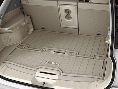 2015 Nissan Rogue Carpeted Cargo Protector (2-row,2-piece)