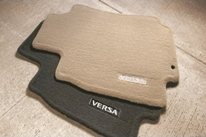 2012 Nissan Versa Carpeted Floor Mats