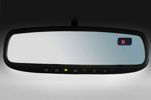 2012 Nissan Rogue Auto-Dimming Rear View Mirror 999L1-VW000