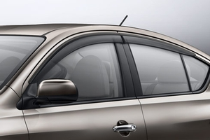 2017 Nissan Versa Side Window Deflectors H0800-3BA00