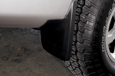 2009 Nissan Titan Color-Matched Splash Guards
