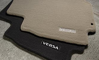 2008 Nissan Versa Carpeted Floor Mats
