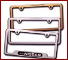 Genuine Nissan License Plate Frames